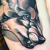 狼纹身 图片素材---安卓手机下载